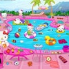 Hello Kitty Messy Pool Game Online